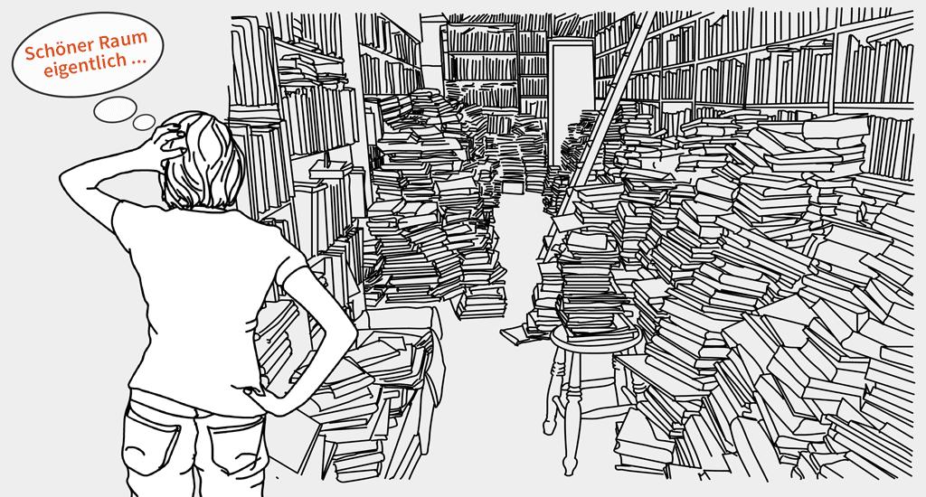 Wohin Mit Alten Büchern wie und wo verkauft gebrauchte bücher am besten